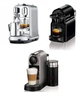 best nespresso coffee machine