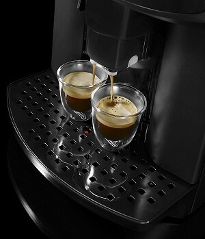 delonghi caffe corso makes two cups at once