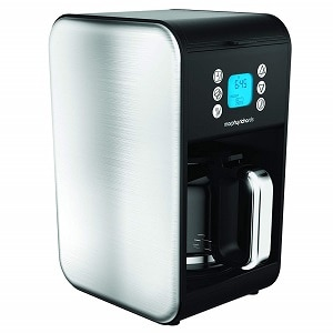 morphy richards pour over filter coffee machine
