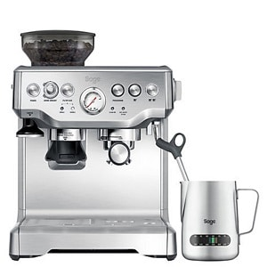 sage barista express review coffee machine