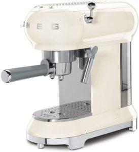 Smeg ECF01CRUK Traditional Pump Espresso Coffee Machine